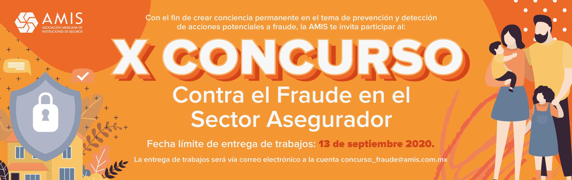 Convocatoria X Concurso vs Fraude